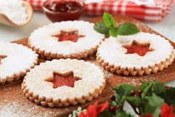 Shortbread Jam Cookies